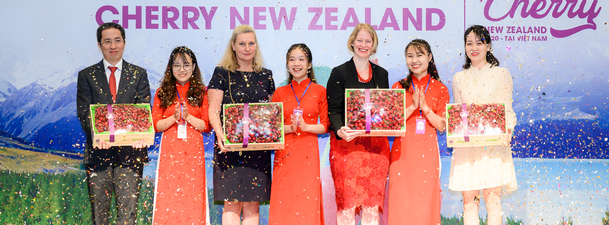 Khai mạc Cherry new Zealand 2020